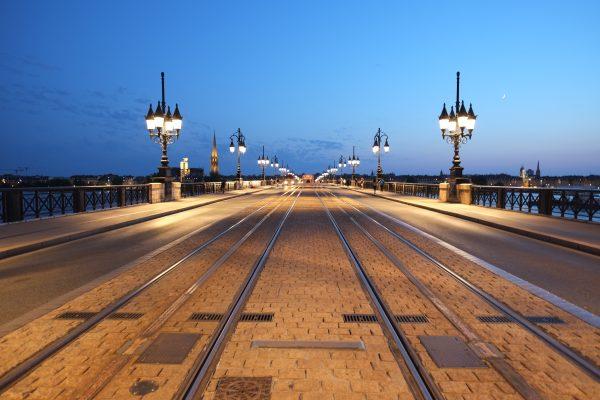 Bordeaux et le pont de pierre