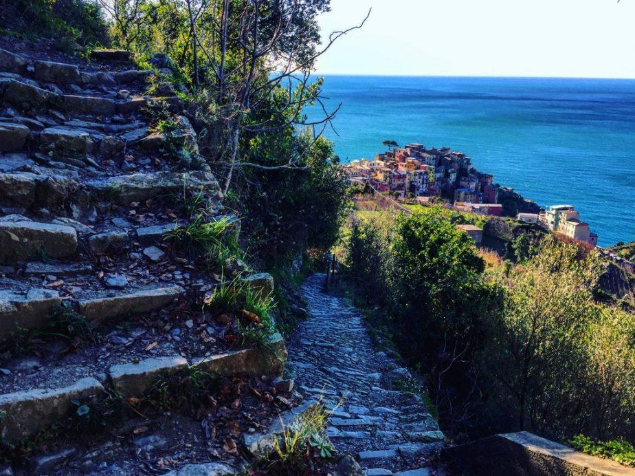 Sur les petits chemins de Cinque Terre