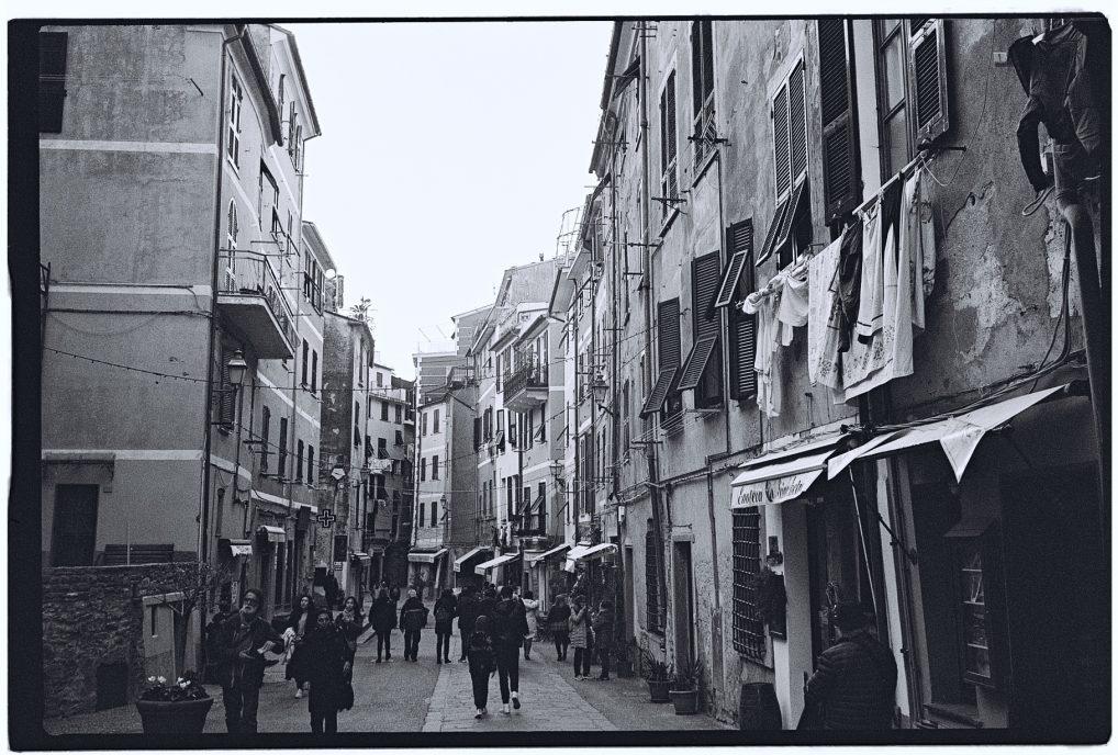 Dans une ruelle de l'un des villages de Cinque Terre