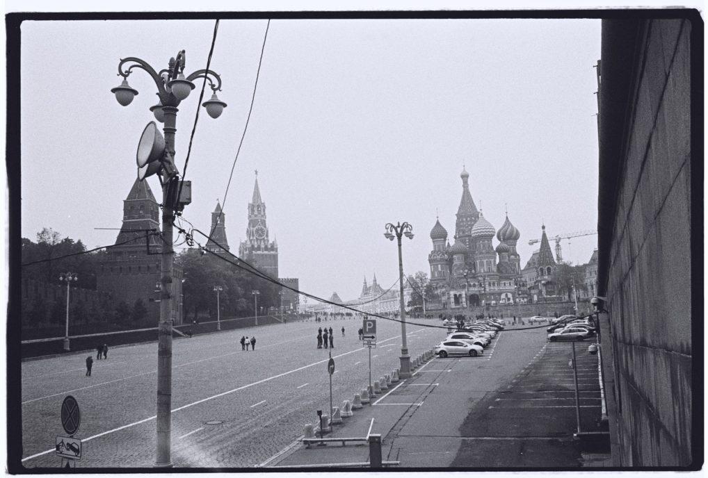 Le Kremlin et la basilique Saint Basile sur la Place Rouge