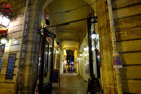 Dans le quartier Odéon l'un des plus beaux passages couverts de Paris
