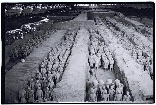 Le plus grand hall des soldats en terre cuite à Xian