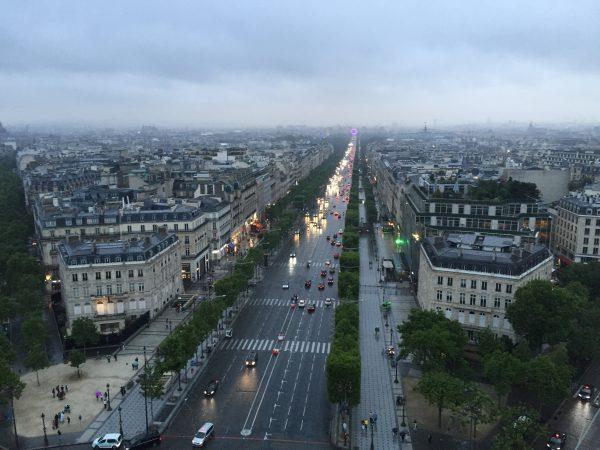 Les Champs Elysées l'une des choses à faire à Paris
