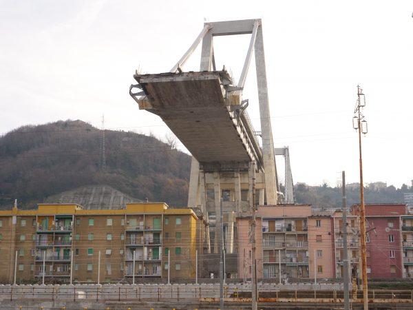 Le pont de Gênes côté sud