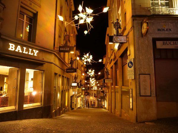 Lausanne la nuit