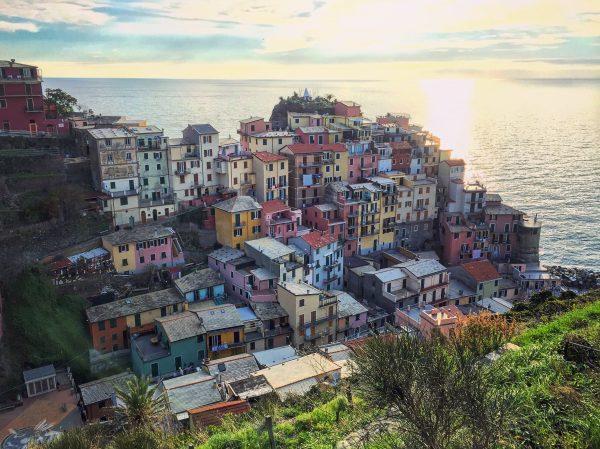 Sur les chemins de Cinque Terre en Italie
