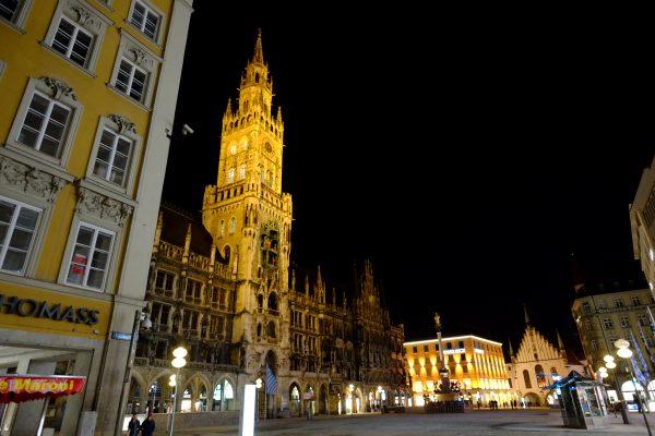 L'ultra centre de Munich et Marienplatz