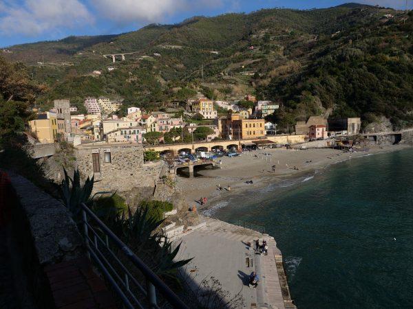 Monterosso, le premier village en venant du nord