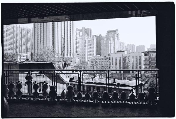 Vue sur les faubourgs de Xian