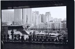Vue sur les immeubles de Xian