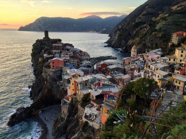 Le splendide village de Vernazza