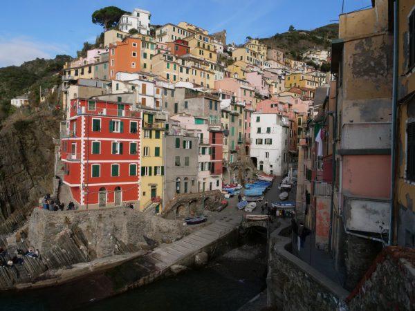 Riomaggiore l'un des plus beaux villages des Cinque Terre