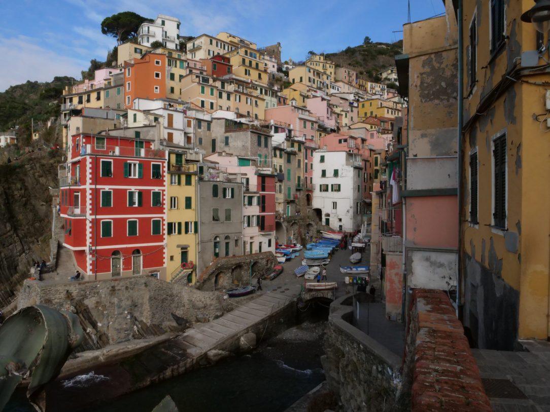 Riomaggiore, l'un des plus beaux villages de Cinque Terre