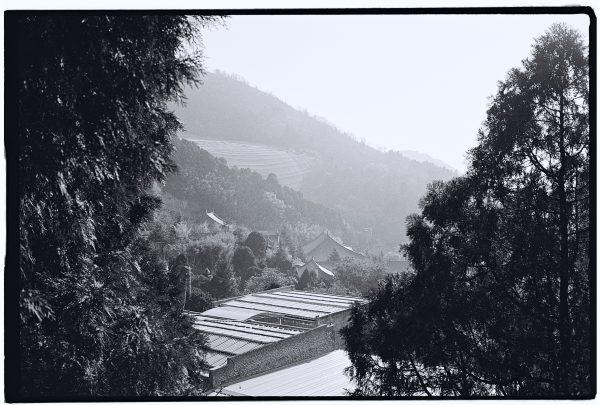 La Montagne Li entre l'armée de terre cuite et le centre ville de Xian