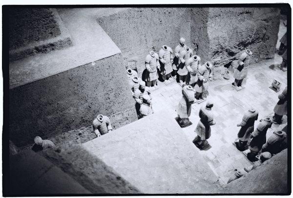 Les soldats de Xian photographiés en noir et blanc et au Leica M6