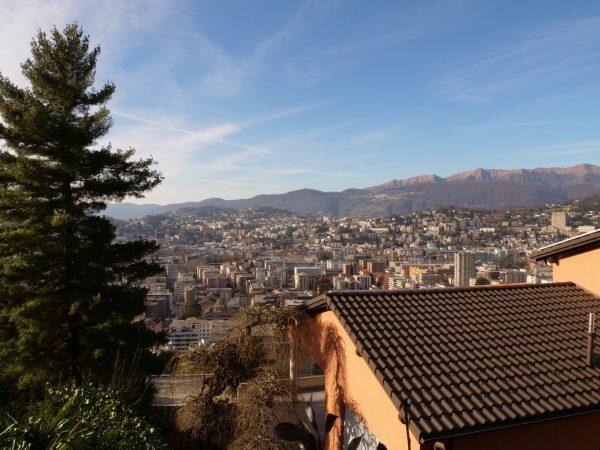 Lugano une ville d'un canton suisse italophone