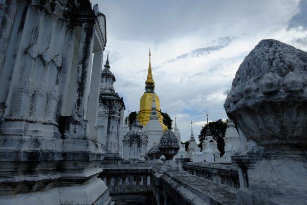 La très belle architecture de la ville de Chiang Maï