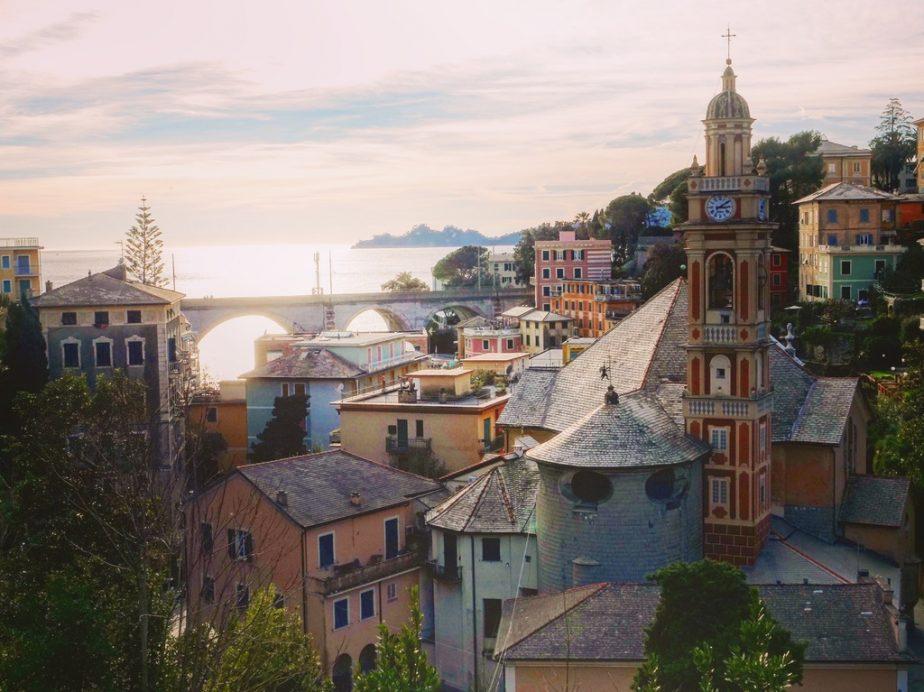 Zoagli un village qui se tient à l'écart de la ferveur de Cinque Terre