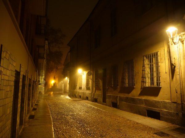Asti, la nuit en Italie du nord