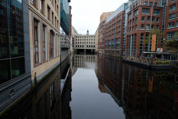 Les canaux du centre ville d'Hambourg