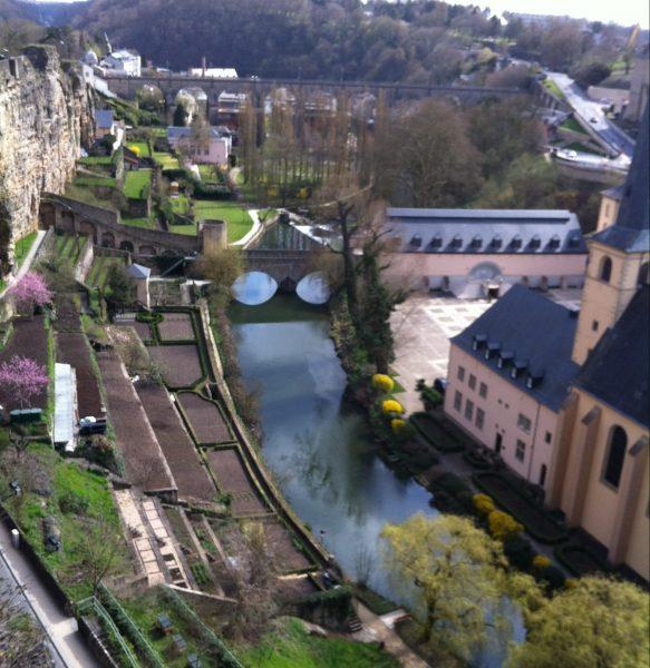 Dans le centre ville de la capitale du Luxembourg