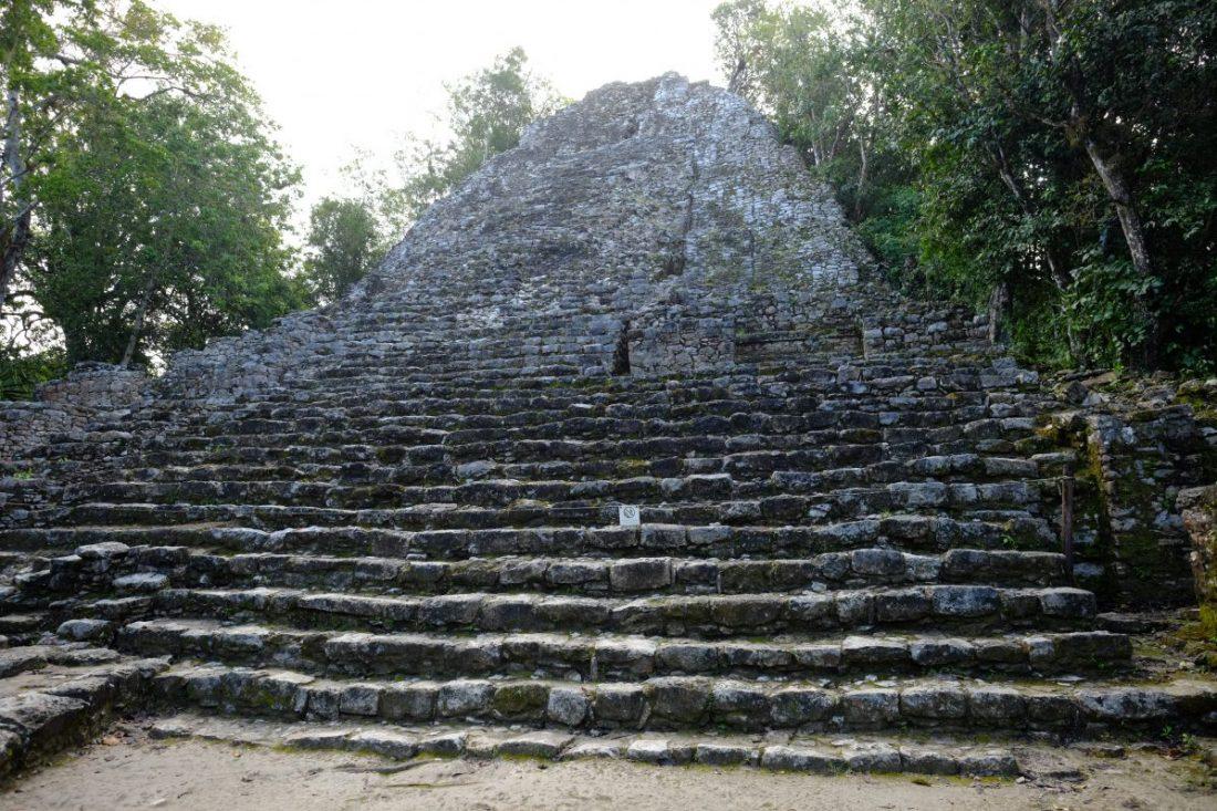 Cobà au Mexique