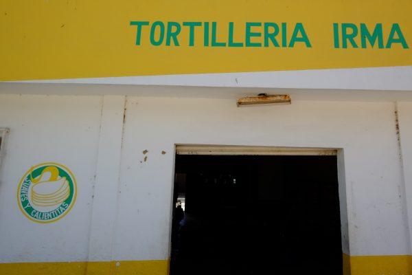 Une fabrique de Tortilla dans un petit village mexicain