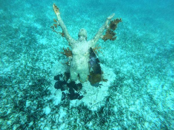 Le MUSA de Cancun un musée sous-marin sur la Péninsule du Yucatan