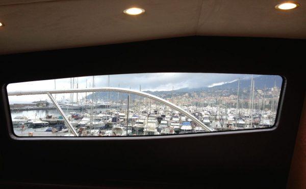 Porto Sole depuis l'un des yachts de Sanremo