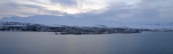 Islande, une grande ville du nord