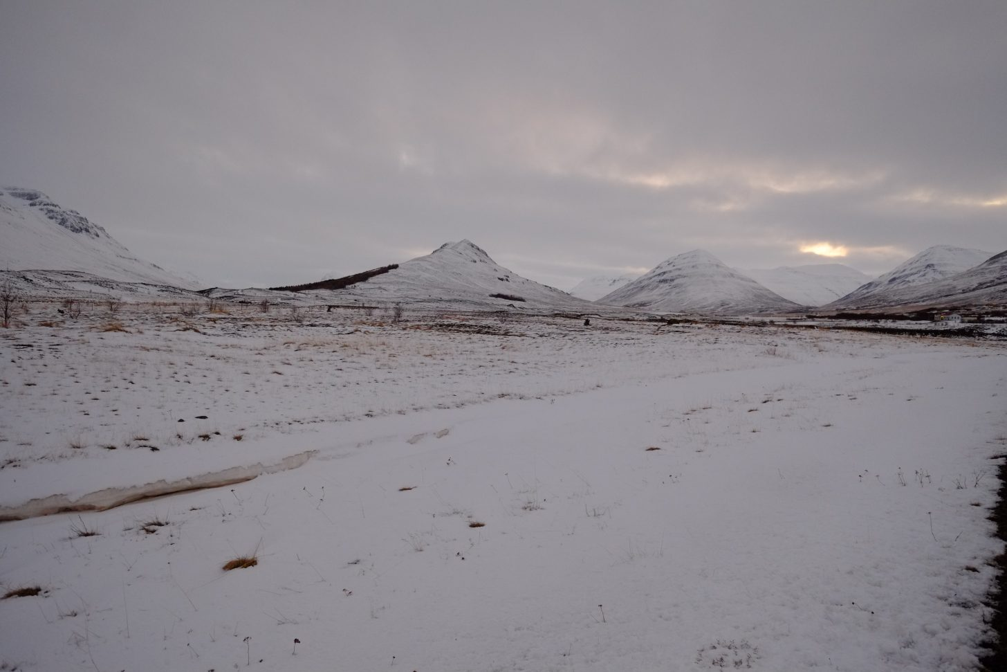 Akureyri, un paysage fantasmagorique