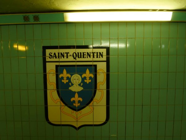 La gare de Saint-Quentin