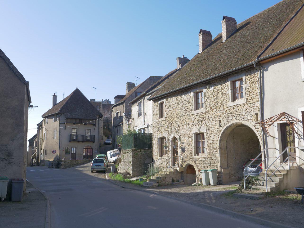 Pesmes, un très beau village en Haute-Saône