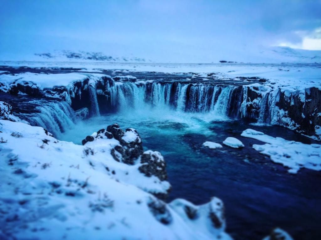 Godafoss, voyage dans le nord de l'Islande