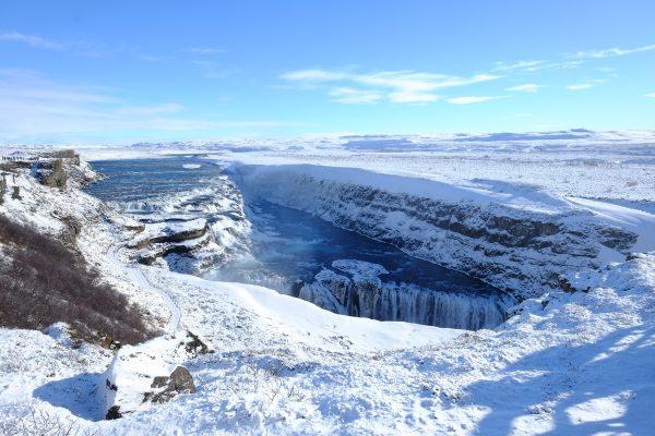 L'une des cascades les plus puissantes d'Islande