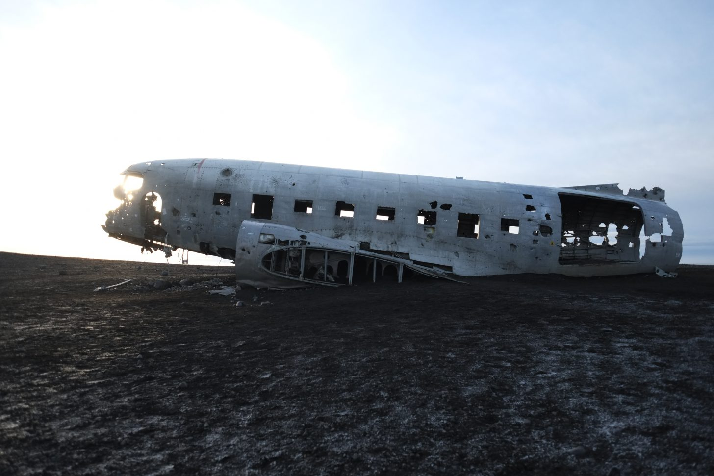 Un avion de l'armée américaine en Islande
