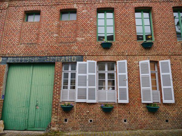 L'un des façades de la maison familiale de Matisse