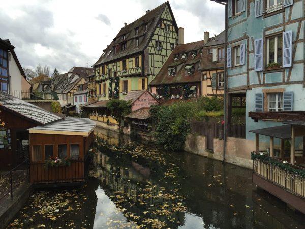 La ville de colmar en Alsace