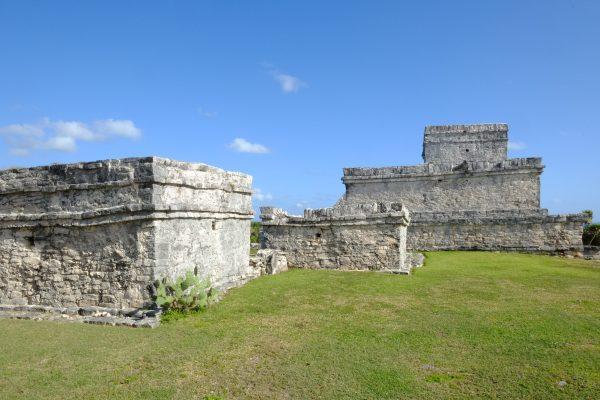 Le site archéologique de Tulum sur la péninsule