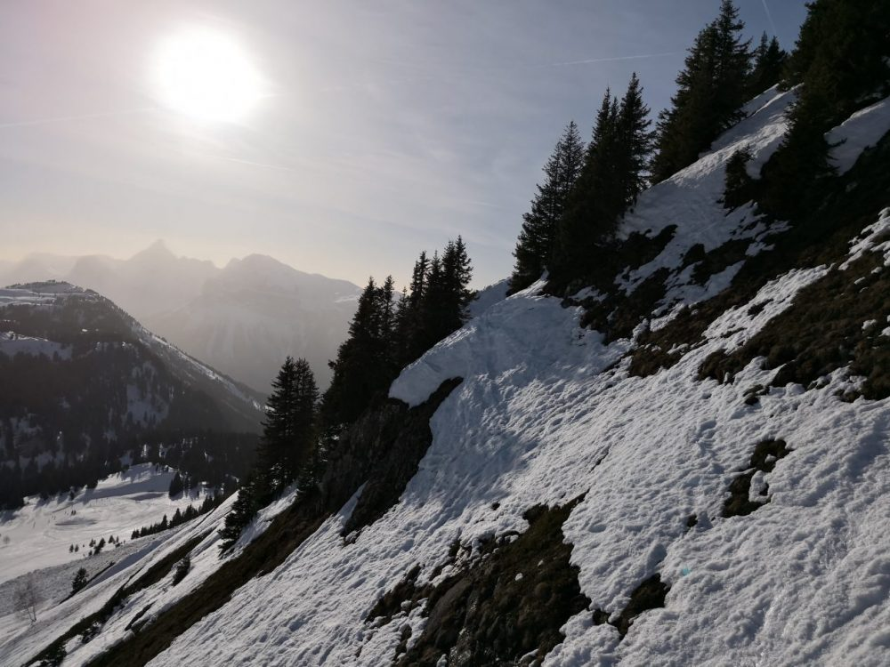 Les montagnes de la Haute Savoie
