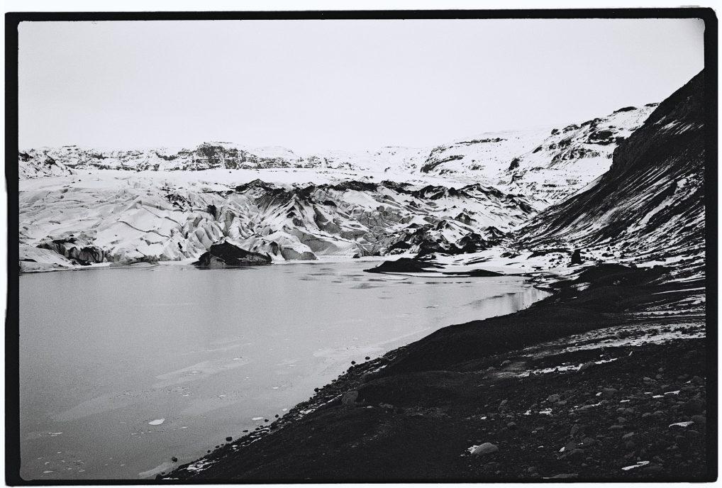 Un glacier dans le sud de l'Islande