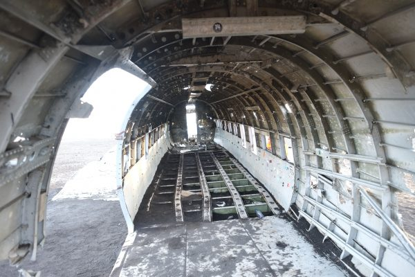 Un DC3 abandonné dans le sud de l'Islande