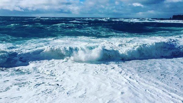 Les superbes vagues que l'on peut admirer dans l'ouest du Pays