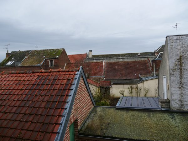 Les toits de Bohain dans l'Aisne