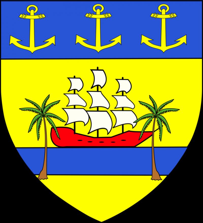 L'emblème de la ville d'Abidjan