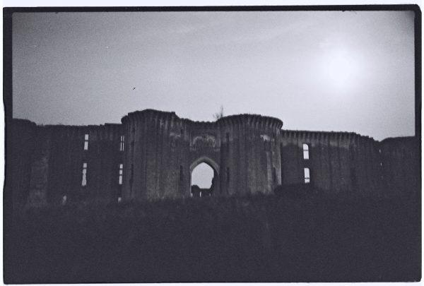 Les restes du château de la Ferté Milon