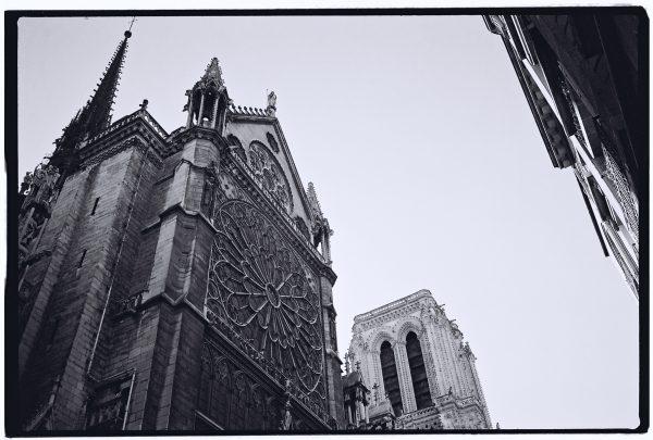 La flèche de Violet le Duc et la Tour Nord