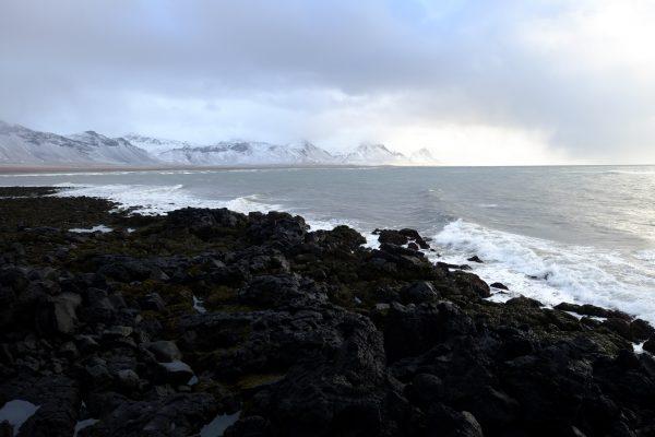 La côte de l'Ouest de l'Islande