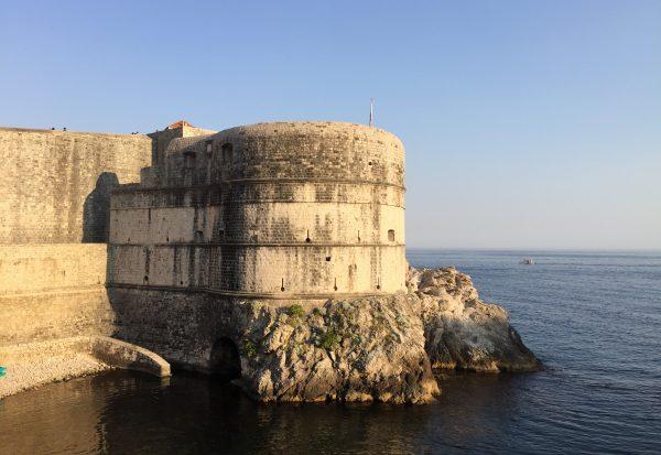 L'un des principaux lieux de tournage à Dubrovnik