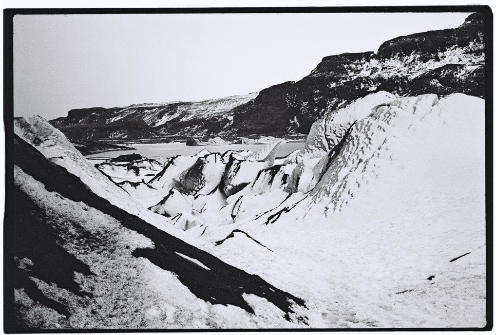 Un magnifique glacier islandais